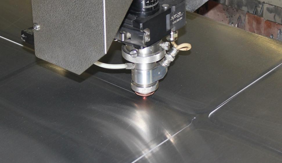 лазерная резка алюминий лист